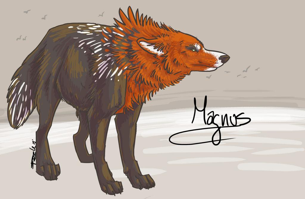 COMMISSION : Magnus by fazzle