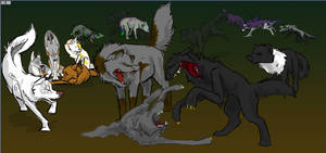 The Pack - WIP by fazzle
