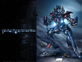 Optimus Prime by particle9