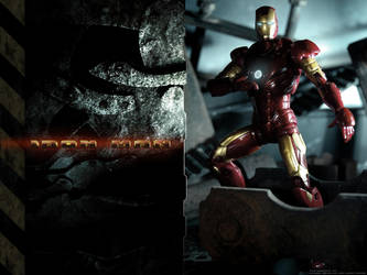 Iron Man by particle9