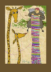Xirafas------Giraffes by Raquelinha