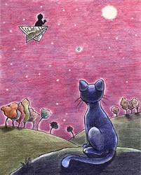 cat by Raquelinha