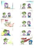 Christmas comic by tiger-Sanga