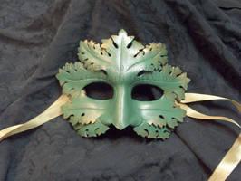 Greenman Mask by cwicseolfor