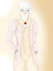 Albino masked demon~? by Zahyebah