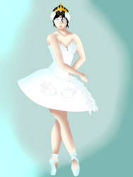 Giselle the ballerina by Zahyebah