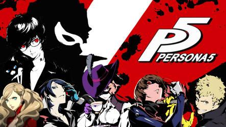 Persona 5 Wallaper by Zahyebah