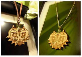 Majora's Mask Necklaces by Havenaims