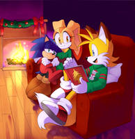 COMM: Christmas story time by Drawloverlala