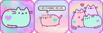 [F2U] Pusheen cat Divider by lilivgogh90