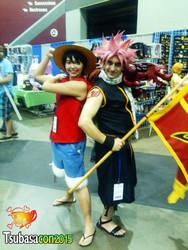 Natsu and Luffy, on an adventure! by MasterBlackburn
