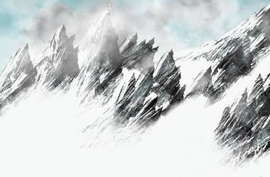 Snowy Mountains by Jan Schlosser by JanSchlosser