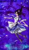 Alice: Night flight by Ank-sama