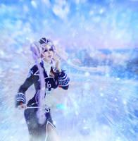 Trinity Blood - Helga von Vogelweide winter ver. 3 by Ank-sama