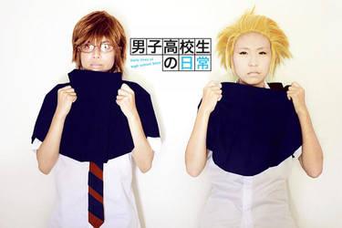 Danshi Koukousei no Nichijou by tamarpg