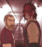 Daniel and Kane by ZombieErnie