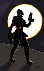 Alien Assassin by darthmongoose