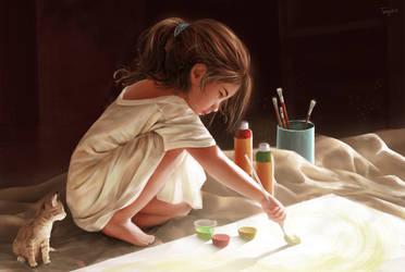 Little Artist. by KissSatsuki