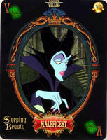 DV Card 13: Maleficent by Maleficent84