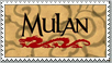 Mulan Disney Stamp by Maleficent84