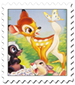 Bambi Cover Stamp by Maleficent84
