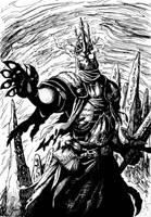 Death Saint by TheIvoryFalcon