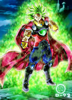 BYO the true King of saiyans by diegoku92