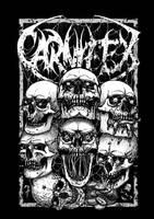 7 Deadly Sins merch design for Carnifex by GrimsoulArt