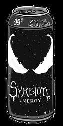 Symbiote Energy Drink by badluckgoblin