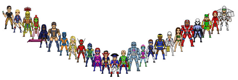 Freedom Force by SpectorKnight