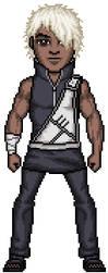 Darui - Raikage's Bodyguard 1 by SpectorKnight