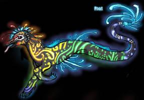 Glow dragon by Phact