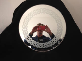 Celtic Knot Mirror by pwreed