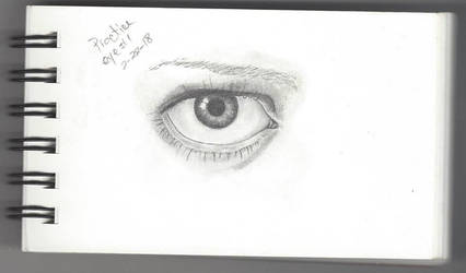 Practice Eye 1 Try 2 by pwreed