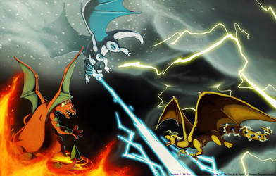 The Legendary Dragons of Ouen by Chibi-Pika