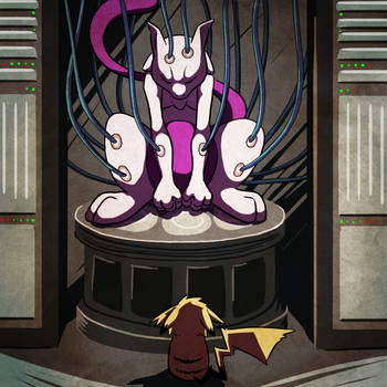 15. Mewtwo by Chibi-Pika