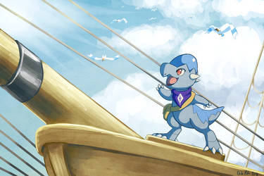 Casting Off! [Commission] by Chibi-Pika
