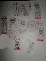 doodles by XxMaskedPuppetxX