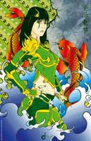 Samurai de Jade by Arkhenz