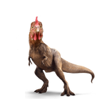 chicken T-Rex dinosaur png by brent4861