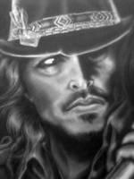 Johnny Depp by Kamm0
