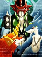 Digimon by DrowningArrows
