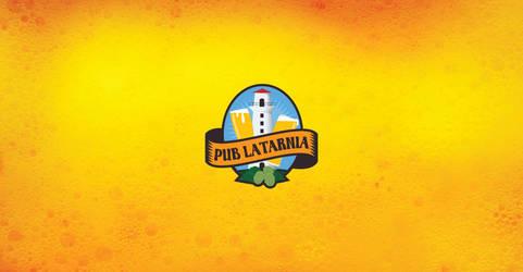 Pub Latarnia logo by morecolor