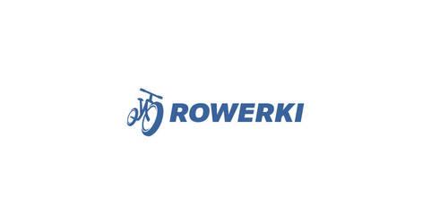 Rowerki bike logo by morecolor