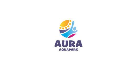 Aquapark logo by morecolor