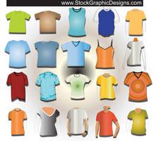 T-shirt Templates by VELAVAN