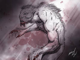 Werewolf small by mfamily