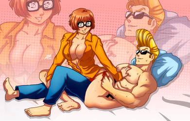 Velma and Johnny by mistermadigan