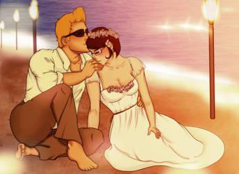 Hawaiian Wedding by mistermadigan