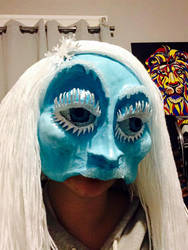 Ice Queen Mask 2 by KNuhn